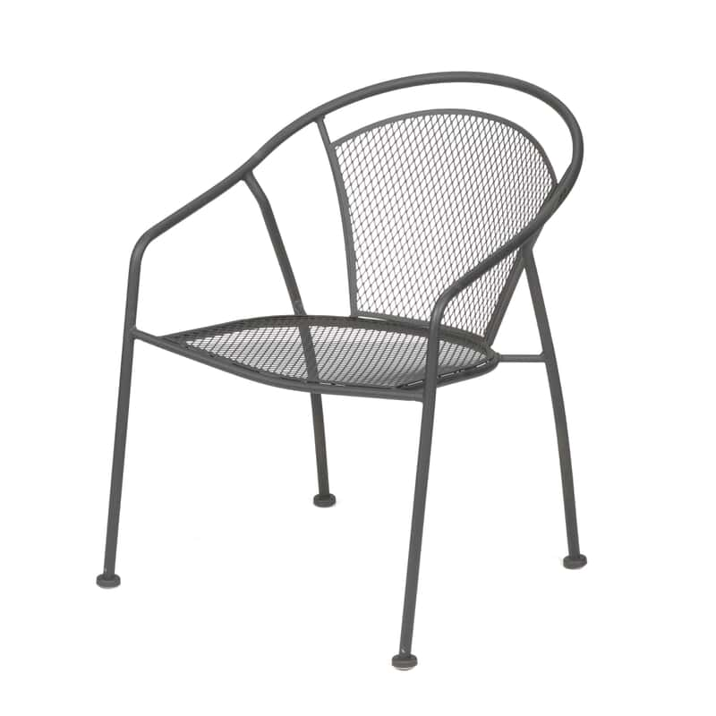 Uptown Patio Bistro Chair Steel Mesh